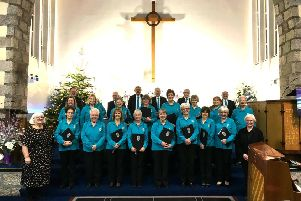 The Ythan Singers at one of their two festive concerts