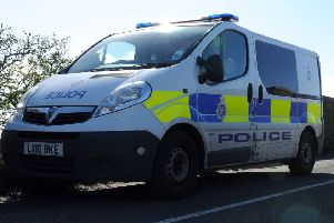 Police carried out drug raids at two properties in Stenhousemuir this morning