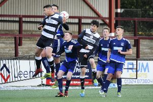East Stirlingshire FC v Vale of Leithen FC, 17/03/2018, Stenhousemuir, Ochilview Park, Falkirk District, Scotland, _DSC1547.JPG, 4.4MB, , NIKON CORPORATION, NIKON D3S, Alan Murray,   2nd Half   Credit Image: Alan Murray Photography  Pic by Alan Murray Tel: 01877 331266 Mob. 0751 111 23919