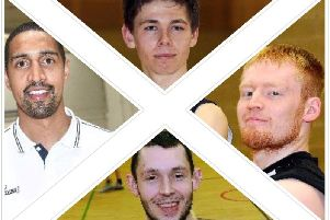 Fury trained players called up to the Games in the Gold Coast -  Fraser Malcolm (top) Ali Fraser (bottom) Jonny Bunyan (right)  Kieron Achara (left)
