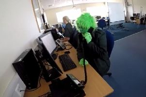 Forth Valley ambulance staff got creative as they filmed a Lip Sync Battle entry
