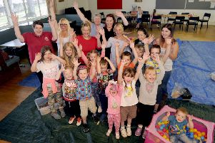 Children enjoy a fun day organised by Home-Start Falkirk West