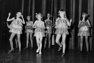 Stenhouse School of Dance. Falkirk 1970.