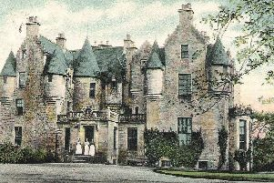 Stenhouse, the home of Sir Michael Bruce