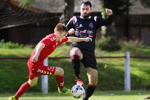 Tommy Coyne and Linlithgow Rose had a frustrating day at Camelon