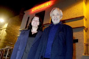 Edinburgh Festival deputy artistic director Diane Henderson and Bill Forsyth at a special screening of Bill's film Gregory's Girl