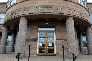 Alfie McGurk was jailed for three years at Falkirk Sheriff Court