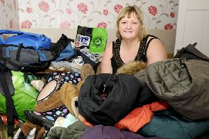 Wilma McLay has been collecting winter packs for the homeless and has had an amazing response.