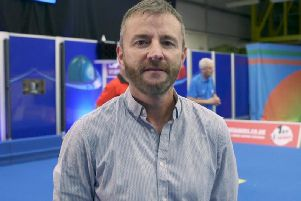 David Gourlay, from Ayr, won coach of the year at the sportscotland Coaching Officiating and Volunteer Awards 2018