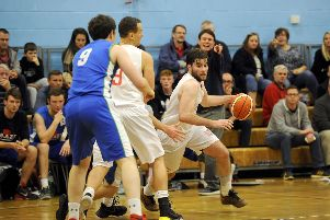 Bryan Munnoch will be a key player for the Senior Men against Dunfermline. Picture: MIchael Gillen.