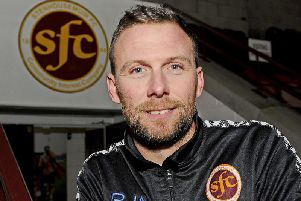 New Stenhousemuir manager Colin McMenamin will be assisted by Stuart Balmer
