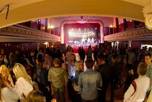 Shuffle Down Festival in the Dobbie Hall