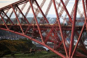 Abseilers will head for the Forth Bridge to fundraise for Strathcarron Hospice. Picture: Michael Gillen