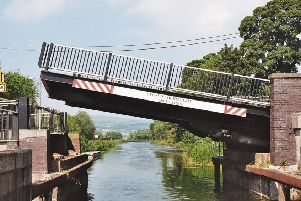 The Twechar bridge is expected to reopen in April.
