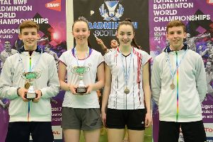 Sarah Sidebottom (left) and Lauren Middleton were in action at Scottish National Championships (Library pic)