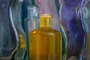 Winning image 'Bottled Yellow' by Sandy Cowie