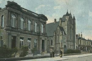 Grangemout Library around the time of its opening