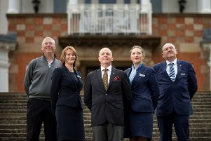 The successful charity fundraising Trump Turnberry team
