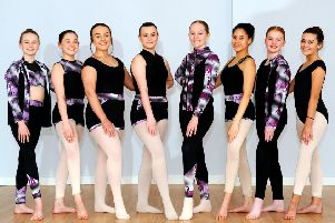 Young Falkirk dancers are taking part in a major Glasgow show