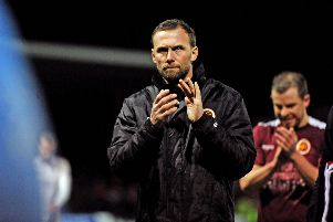 Stenhousemuir manager Colin McMenamin (pic by Michael Gillen)