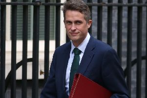 Defence Secretary Gavin Williamson.