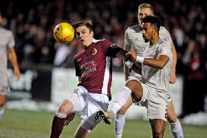 A win will take Stenhousemuir of the bottom of the table.