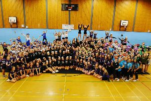 Scottish Schools Cheerleading Competition 2019.