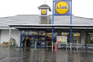 Lidl in Carron was broken into on Sunday morning