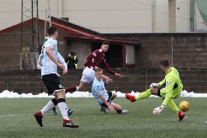 Colin McMenamin's Stenhousemuir drew a blank as they went down to Stranraer