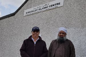 Dr Abdullah Ali and Ishfaq Mohammed of Kirkcaldy Islamic Centre
