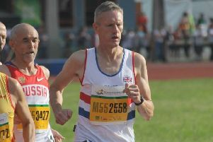 Glenrothes veteran athlete John Thomson wins silver in Budapest World Masters Athletics five years ago