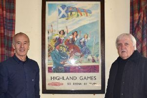 Alistair Grant (left), chairman of Aboyne Highland Games