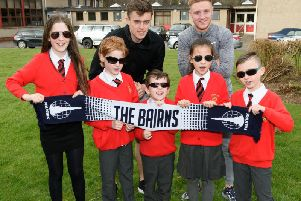 Specsavers have previously run competitions with Falkirk FC, including this one to design sunglasses.