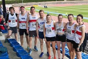 Fife AC at Round the Houses 10k.
