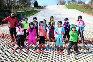 Polmonthill Snowsports Centre, April 9, 2019. Pictures by Michael Gillen.