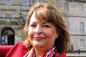 Culture secretary Fiona Hyslop was at Callendar House this week for the launch of the Scottish Heritage Crime Group