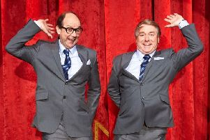 Actors Jonty Stephens and Ian Ashpitel are bringing their Eric and Ern show to Falkirk Town later this month