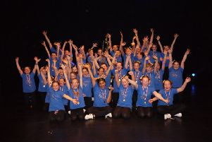 Denny Primary School - Forth Valley Glee champions.