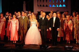 Larbert Amateur Operatic Society perform Evita at Dobbie Hall, Larbert from May 7-11. Pictures by Michael GIllen.