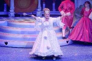 Babara Bryceland as the Fairy Godmother in Cinderella