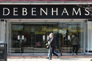 Debenhams is to press ahead with store closure turnaround plan. Picture: PA