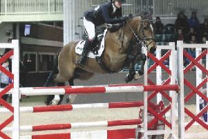 Emma Woods Addington - NFA showjumping star for May