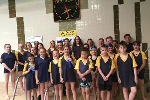The Cupar and Distric swimmers certainly made a splash at the Novice Leagues.