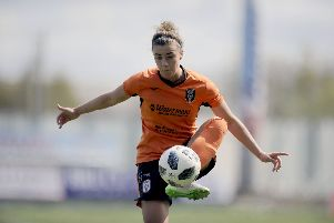 Nicola is heading to France with Scotland after some stellar seasons with Glasgow City