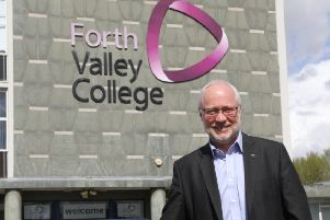 Forth Valley College principal Dr Ken Thomson