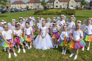 Fairies and the Fairy Queen from Carron and Carronshore Gala Day 2018. Picture: Dave Johnston
