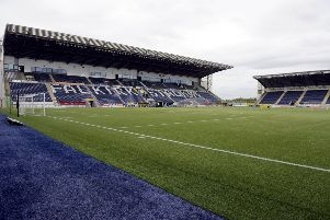 There is said to be much happening at The Falkirk Stadium in coming days. Picture: Michael Gillen.