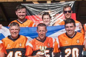 Grangemouth Broncos Big Bowl Europe's biggest Flag Football tournament 2018 side (picture: Jimmy Thomson)