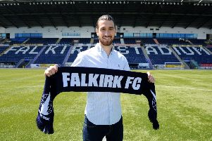Gregor Buchanan grew up locally and is a former community coach at Falkirk. Picture Michael Gillen.