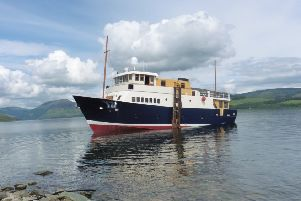The Glen Shiel luxury cruise boat, built by Ardmaleish Boatbuilding Co Ltd, Isle of Bute.